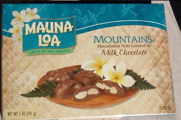 hawaiiのチョコレート