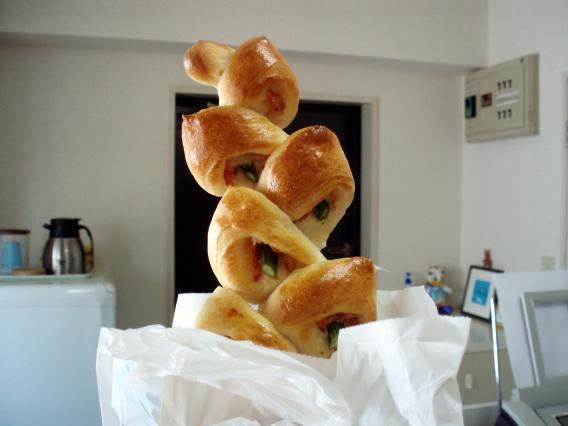 創作夢酵母ルパンさんのパン