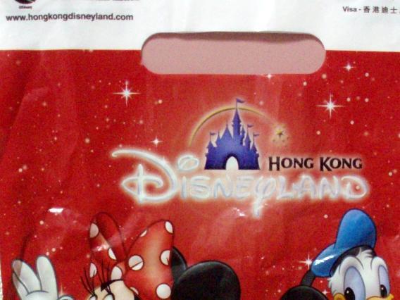 香港ディズニーランド袋