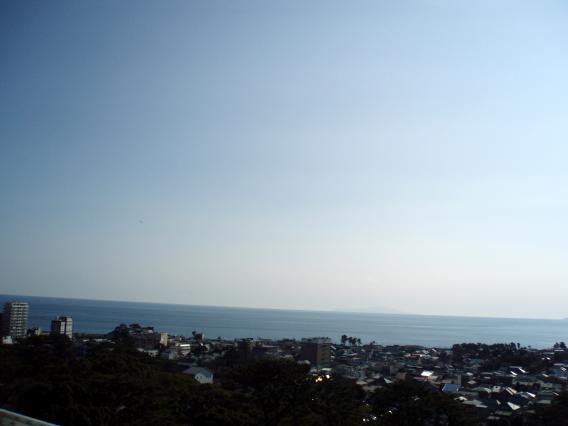 小田原城てっぺん眺め20150104 (10)