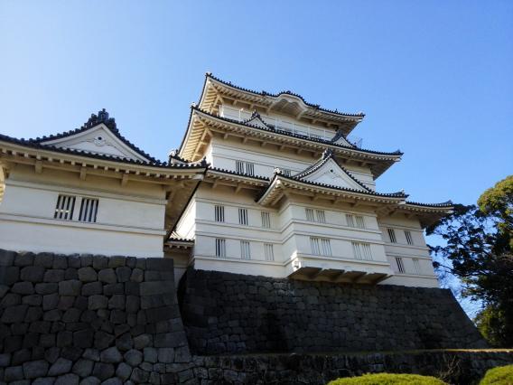 小田原城20150104