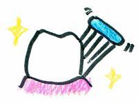 歯磨き歯茎と歯の間
