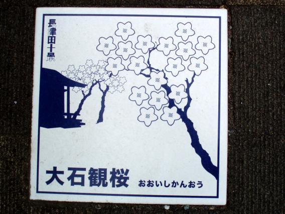 大石観桜おおいしかんおうタイル