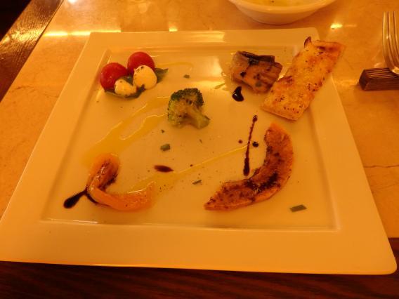 バッボアンジェロランチの前菜