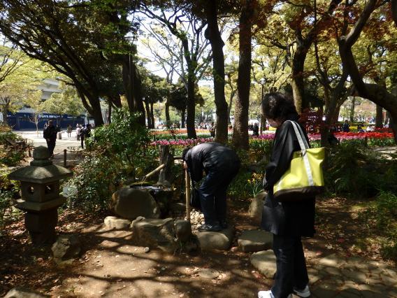 横浜公園水琴窟 (1)