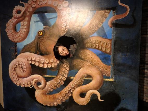 artrickmuseum20161129 オクトパス怪獣
