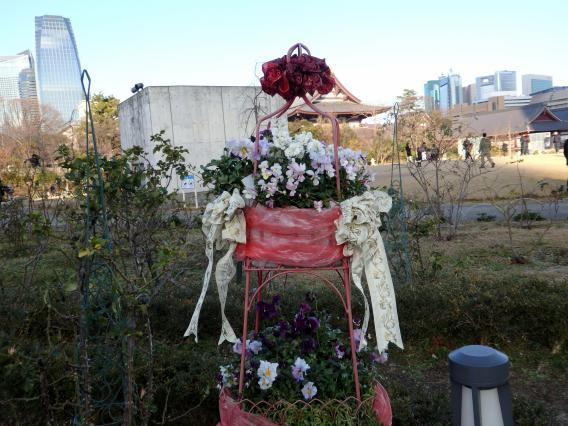 増上寺からの20160103 (11)