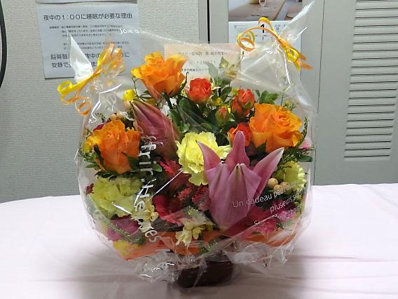 12周年お祝いお花nori (1)