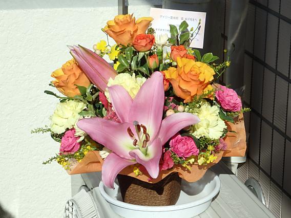 12周年お祝いお花nori (13)